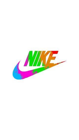 Обои на телефон просто, чернила, спорт, синие, розовые, оранжевые, оно, найк, логотипы, красые, зеленые, белые, splashes, nike, just do it, ink splashes