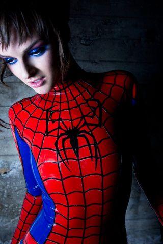 Обои на телефон женщина, человек паук, паук, марвел, веном, spider woman