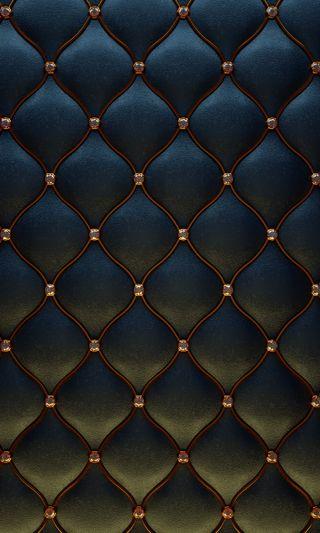 Обои на телефон ткани, синие, роскошные, кожа, золотые, дизайн, абстрактные, luxury leather