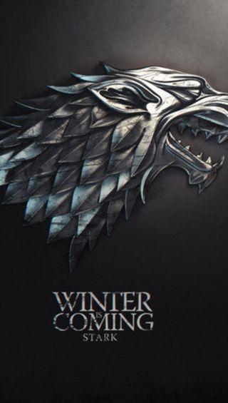 Обои на телефон престолы, игра, зима, coming