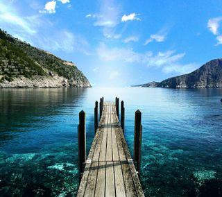 Обои на телефон озеро, горы, природа, mountain lake, lake mountains