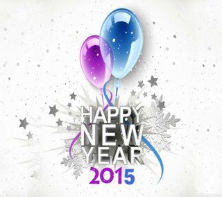 Обои на телефон счастливые, снег, подарок, новый, зима, звезды, год, happy new year 2015, 2015