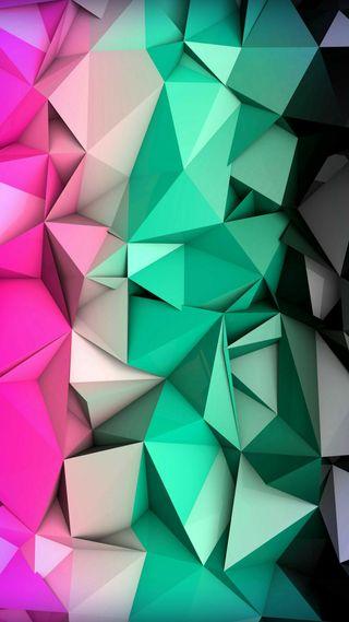 Обои на телефон многоугольник, формы, треугольник, дизайн