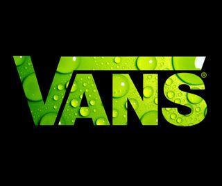 Обои на телефон логотипы, зеленые, бренды, vans
