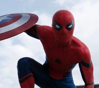 Обои на телефон фильмы, паук, spider-man cw 16, 2016