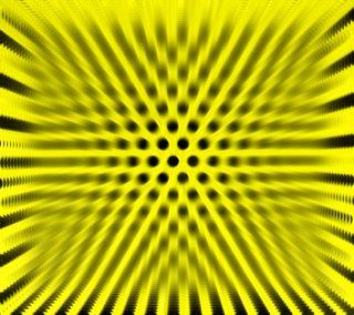 Обои на телефон эффект, черные, зум, желтые, points