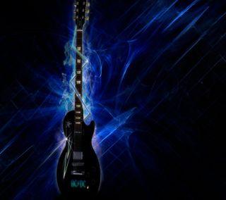 Обои на телефон электрические, синие, самсунг, музыка, гитара, samsung nexus, electric guitar