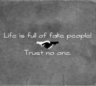 Обои на телефон доверять, цитата, поговорка, новый, люди, крутые, знаки, жизнь, trust no one, full, fake