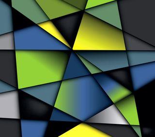 Обои на телефон геометрия, цветные, фон, красочные, colorful geometry, abstact