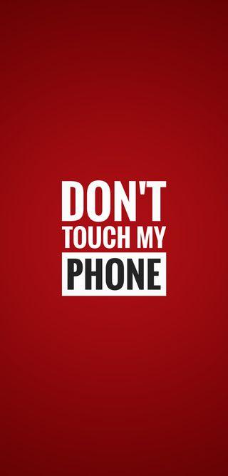 Обои на телефон трогать, предупреждение, не, телефон, мой, красые, warn