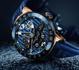 Обои на телефон часы, технология, цветные, синие, острый, время, tecnology, hi-tech, detail, blue watch