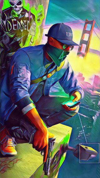 Обои на телефон хакер, часы, улица, крид, игры, город, взлом, silah, siber, 2018