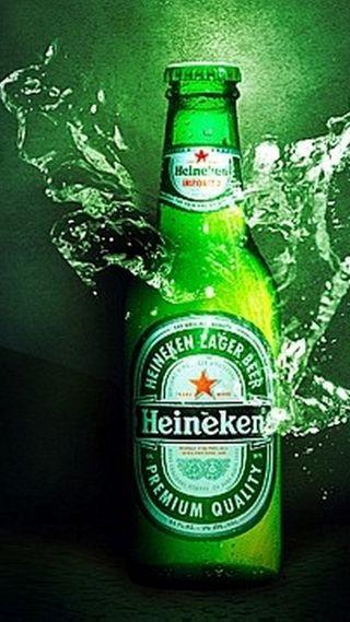 Обои на телефон хейнекен, бутылка, пиво, другие, heineken