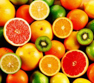 Обои на телефон фрукты, свежие, еда