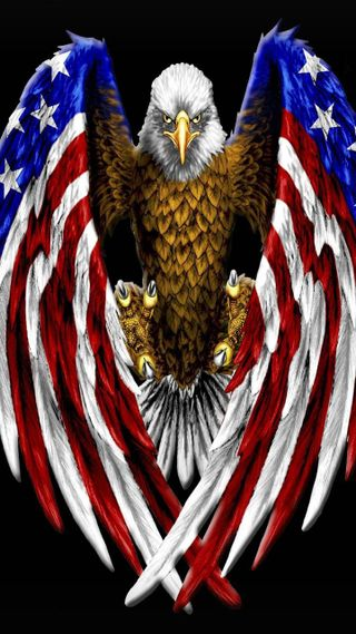 Обои на телефон орел, американские, америка