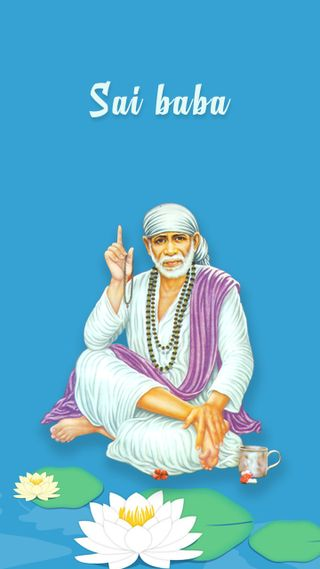 Обои на телефон религиозные, господин, shirdi sai, sairam, sainath, saibaba, lord sai