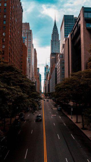 Обои на телефон японские, трафик, телефон, ночь, новый, йорк, город, taxi, rancho, havana, 4k new york city