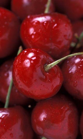Обои на телефон вишня, фрукты, cherries