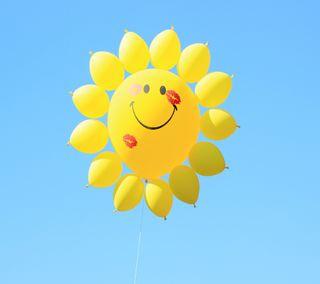 Обои на телефон шары, счастливые, happy balloon, 2160x1920