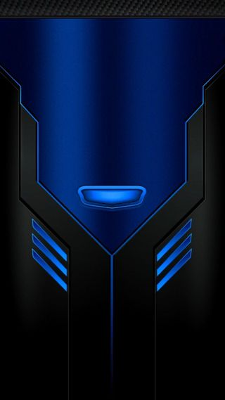 Обои на телефон технология, черные, синие, металл, машина, blue black machine