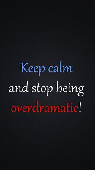 Обои на телефон спокойствие, overdramatic, keep