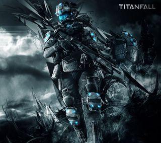 Обои на телефон титанфол, титан, солдат