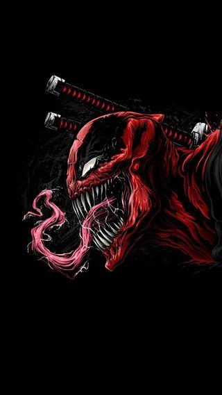 Обои на телефон мертвый, дэдпул, марвел, комиксы, веном, venom x deadpool, marvel