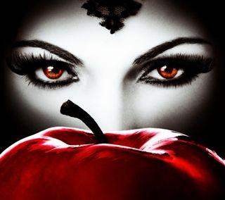 Обои на телефон сказочные, черные, снег, приложение, красые, королева, зло, белые, snow white, regina, fairy tale