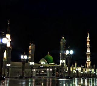 Обои на телефон nabwi, mosque of prophet sw, прекрасные, мечеть, пророк