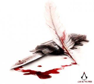 Обои на телефон кровь, крид, белые, ассасин