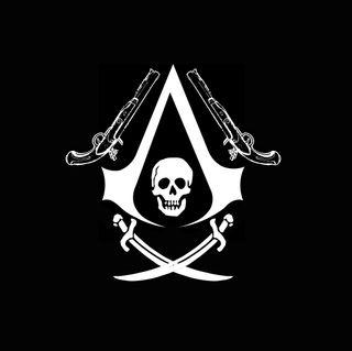 Обои на телефон пираты, черные, белые, ac3