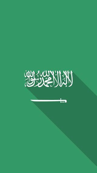 Обои на телефон флаг, саудовская, зеленые, белые, арабские, 2018