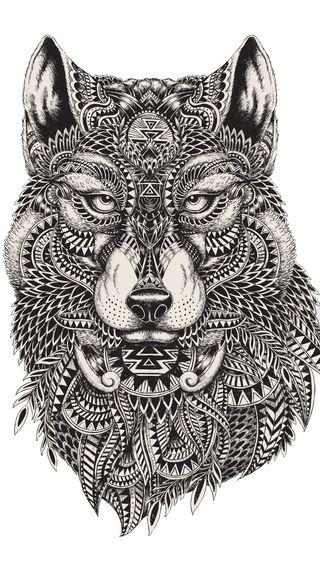 Обои на телефон олень, черные, охота, лучшие, карандаш, животные, дизайн, глаза, волк, арт, абстрактные, wolf art design, hd, art