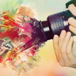 Обои на телефон камера, цветные, выстрел, абстрактные
