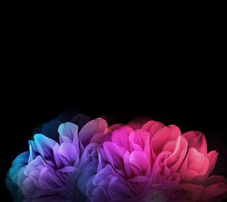 Обои на телефон растения, цветы, цветочные, абстрактные, lg, g-flex 2 floral, g-flex