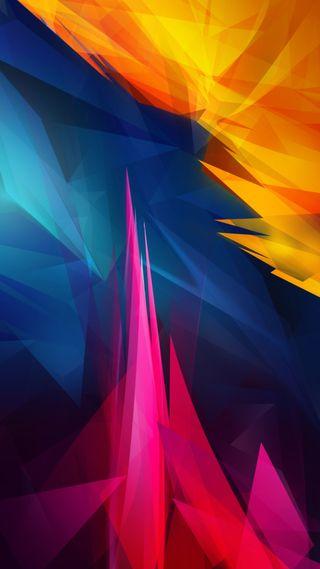 Обои на телефон фантастические, цветные, цвета, острый, абстрактные, abstract wallpaper