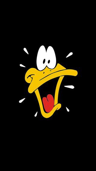 Обои на телефон утка, персонажи, мультфильмы, daffy duck, cartoon character
