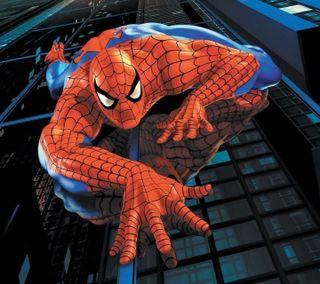 Обои на телефон паук, мультики, spider man