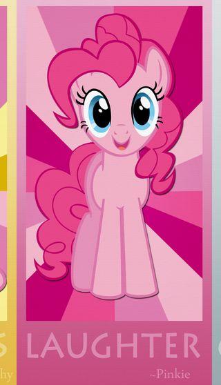 Обои на телефон пони, мой, маленький, магия, дружба, pinkie pie mlp fim, pinkie pie, friendship is magic