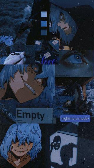 Обои на телефон бнха, эстетические, темные, тема, злодей, герой, боку, shigaraki, mha, dark theme
