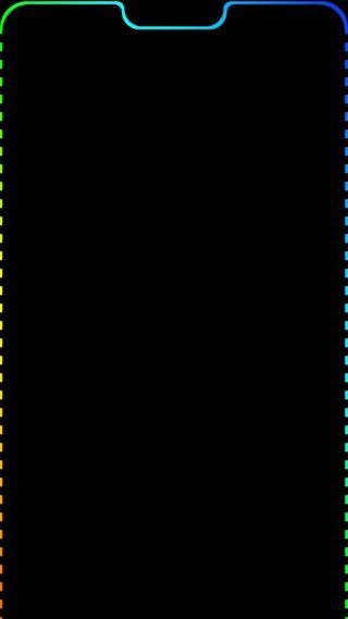 Обои на телефон синие, свет, красые, галактика, айфон, iphone x, galaxy