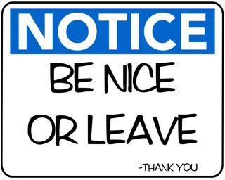 Обои на телефон юмор, приятные, покинуть, будь, notice, be nice