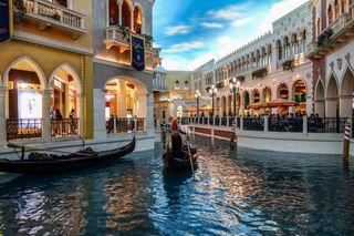 Обои на телефон gondola, vegas, viva italy nv usa, синие, вода, сша, италия, лодки, релакс, поездка