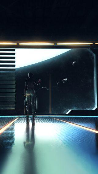 Обои на телефон фантастика, наука, солнце, пришелец, космос, космонавт, космический корабль, внешний, sci, cruel space