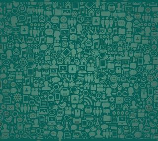 Обои на телефон стена, приложение, зеленые, whatsapp, sms, fondo