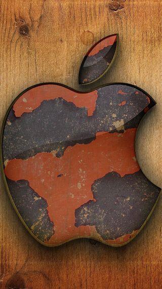 Обои на телефон эпл, мотивация, логотипы, деревянные, дерево, mac, ios, apple