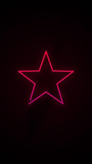 Обои на телефон линии, черные, темные, простые, пентаграмма, неоновые, крутые, звезда, hd