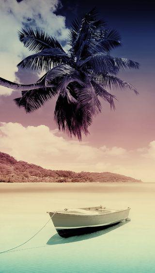 Обои на телефон рай, природа, пляж, пейзаж, океан, закат, гавайи