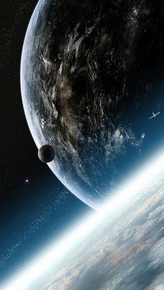 Обои на телефон космос, природа, земля, абстрактные