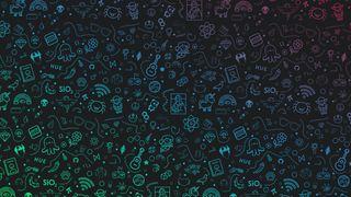 Обои на телефон геометрические, фон, музыка, капли, дождь, вода, абстрактные